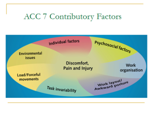 ACC contributory factors